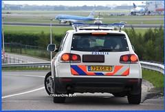 Dutch Police Touareg Schiphol Airport.