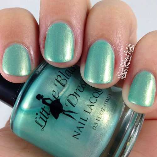 Little-Black-Dress-Nail-Lacquer-Seafoam-Sirens-6 | by NakedWithoutPolish