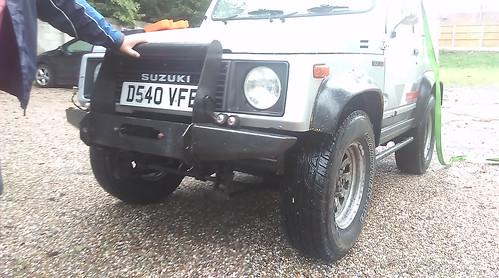 Sj413 winch bumper | by dan00001