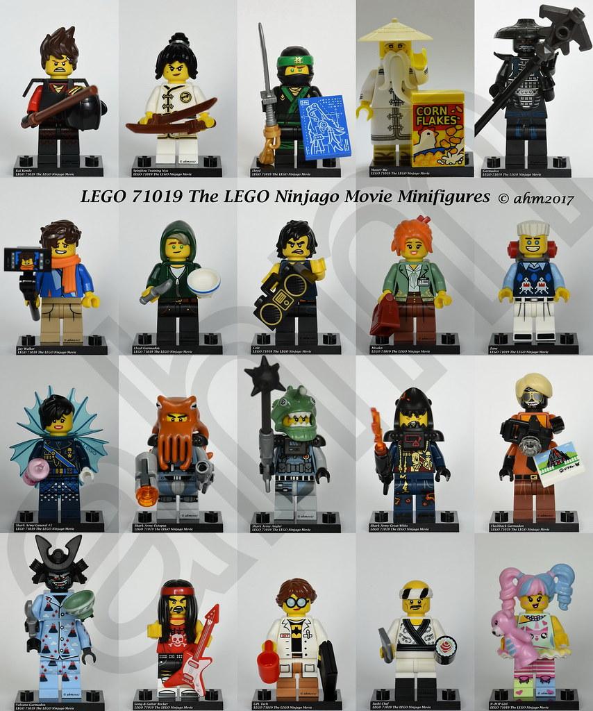 Lego Ninjago Movie Series Jay Walker figurine