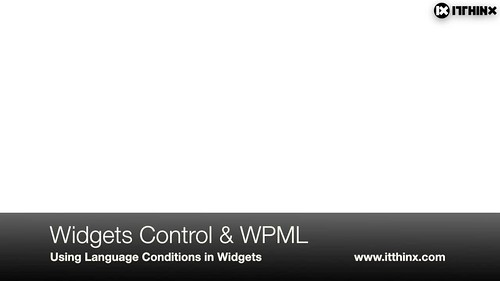 Widgets Control Language Conditions