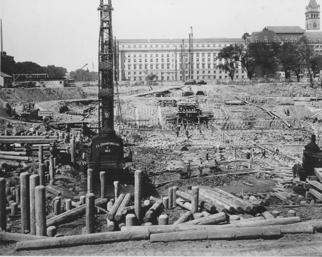 Photograph of the Advanced Construction of the Foundation … | Flickr