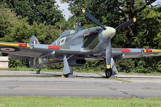 Hurricane IIb BE505 G-HHII | Hangar 11 Collection | North Weald | by stu norris