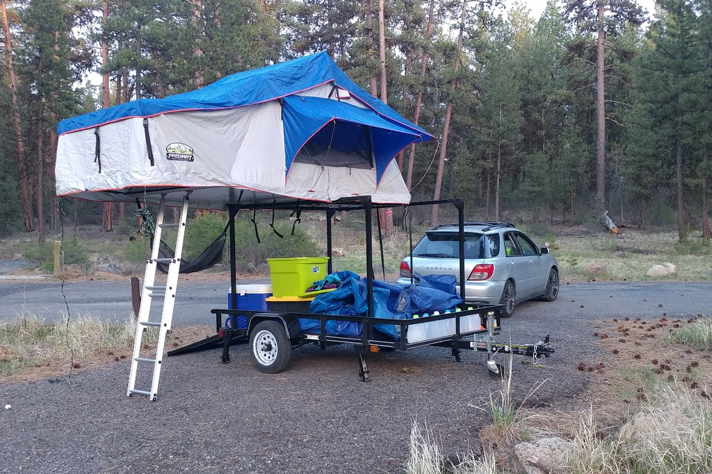 1a Anwc Alex3 Alex S Roof Top Tent Topped No Weld Diy Util