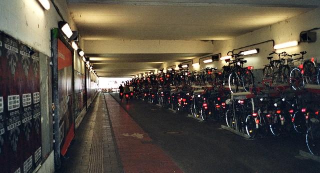 Parkhaus Hamburger Tunnel - I shot film