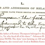 26.1 Solomon Thompson Jr. Paper regarding Jasper Thompson the elder FINAL