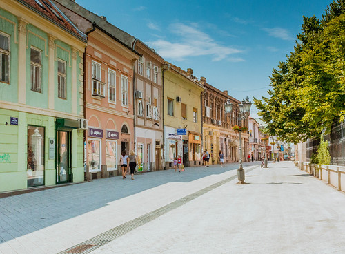 Street in Novi Sad | by wuestenigel
