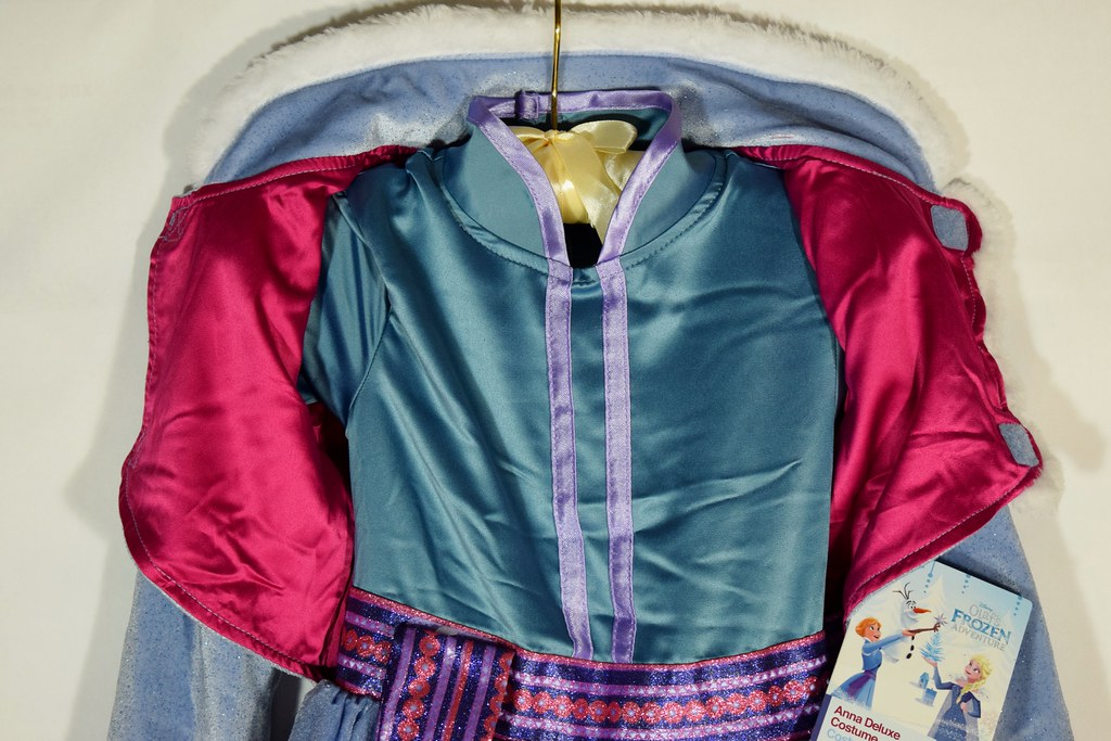 Anna Deluxe Costume - Olaf's Frozen Adventure - Vest Opene… | Flickr