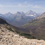 View from goat traverse on Pitamakan Dawson loop