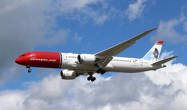 G-CJUL Boeing 787-9 Dreamliner Norwegian Air UK
