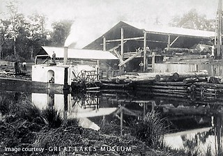 Log punt 'Coolongolook (1899 - 1927) at Goodlet and Smith … | Flickr