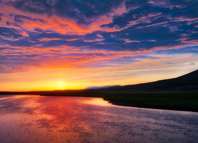 Iceland Pinky Lake