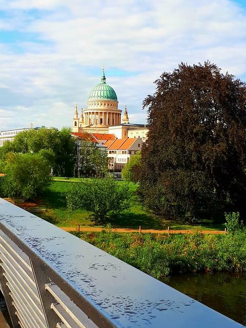 Across the Bridge. (Mobile phone shot)