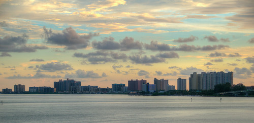 clearwater florida fla fl sunset beach water hdr clouds nature beautiful sun clearwaterflorida clearwaterbeach sky landscape summer