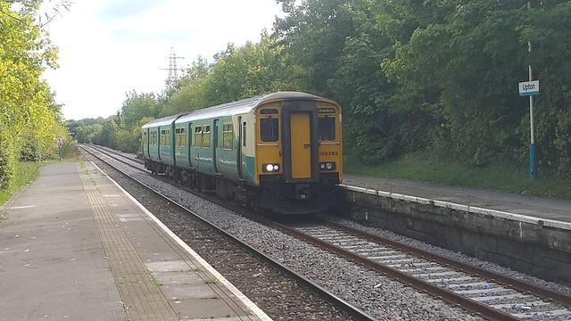 Arriva Trains Wales 150285 Upton Station 16/09/17