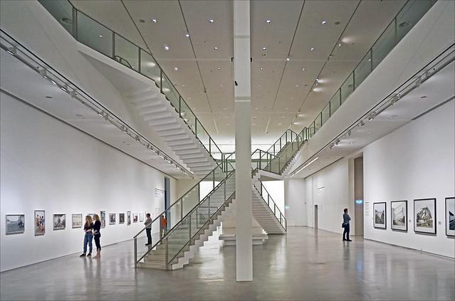 Le grand hall de la Berlinische Galerie (Berlin)