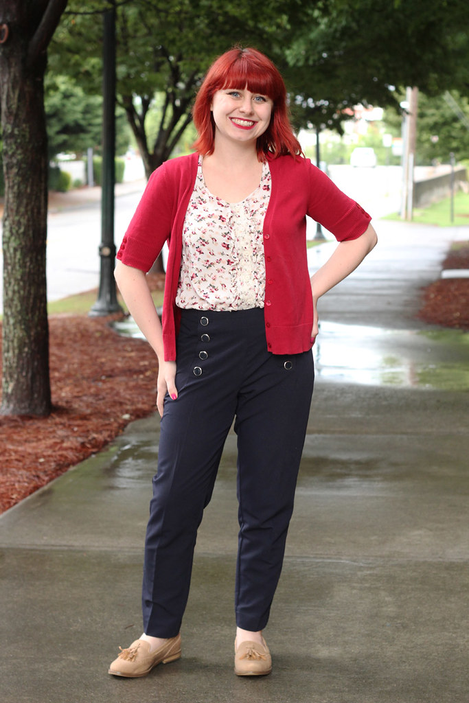 4e00bdb5723 ... Work Outfit  Short Sleeved Cardigan