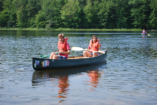 Canoeing!   by Camp Pinewood YMCA