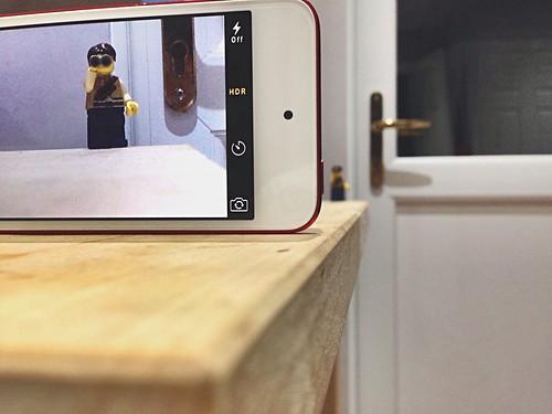 camera lego zoom watching picture binoculars spy viewing iphone project365 adventurerjoe