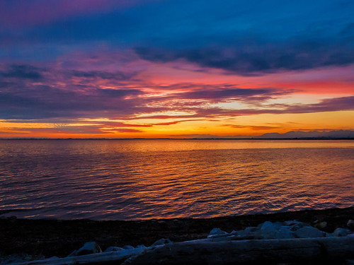 sunset surrey crescentbeach topaz martinsmith southsurrey canonpowershots120 topazclarity ©martinsmith