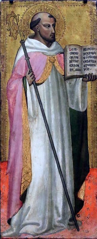 IMG_7523 Lorenzo di Bicci. 1373-1452. Florence. Saint Bernard de Clairvaux. vers 1435. Bremen Kunsthalle.