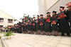 """Members of the UH West Oahu fall 2016 graduating class line the commencement stage on December 10, 2016.  View more photos at: <a href=""""https://www.flickr.com/photos/uhwestoahu/albums/72157673795123933"""">www.flickr.com/photos/uhwestoahu/albums/72157673795123933</a>"""
