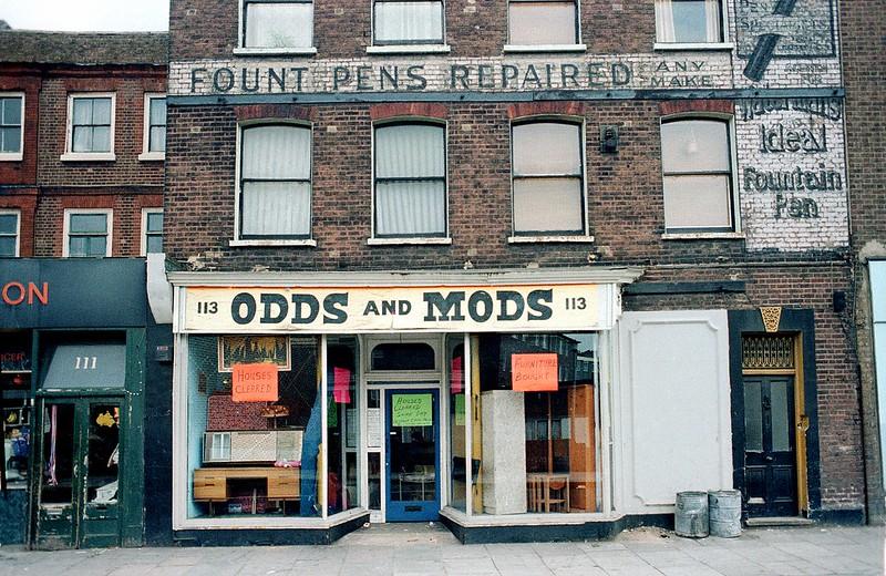 Stoke Newington Church Street 1981 (Alan Denney)