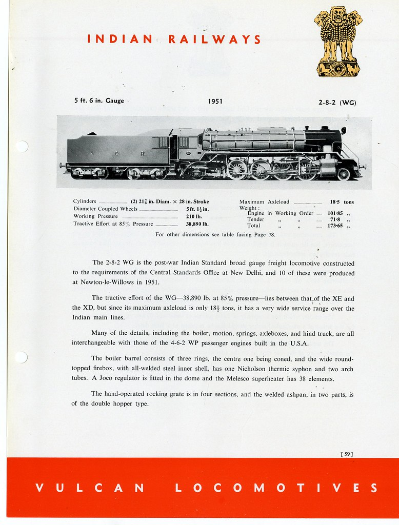Vulcan Foundry - Locomotives Catalog - page 59 | India Railw… | Flickr