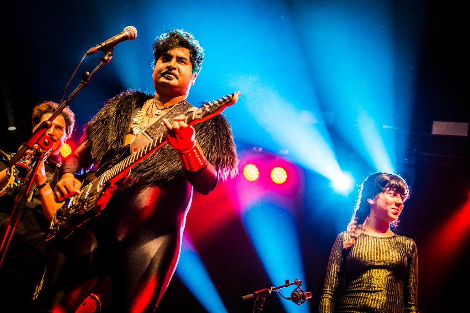 King Khan & The Shrines @ Absolutely Free Festival 2017 (© Timmy Haubrechts)