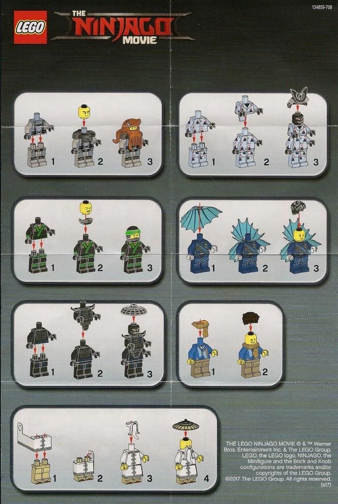 Lego Minifigures Lego Ninjago Movie Series 71019 Flickr
