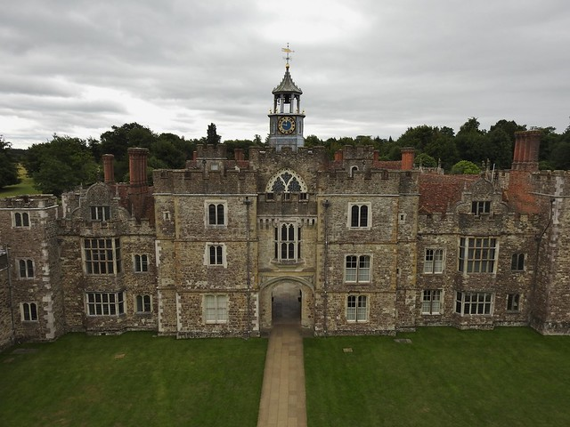 Knole House near Sevenoaks in Kent, England - August 2017