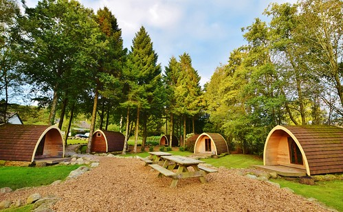 Eskdale campsite - Glamping pods | by www.beckythetraveller.com