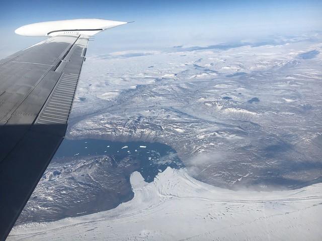 NASA's IceBridge Surveys Glaciers in Northeast Greenland