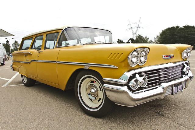 Chevrolet Yeoman Station Wagon 1958 (2135)