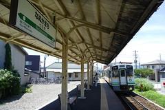 会津鉄道の列車も乗り入れてきて利用できる
