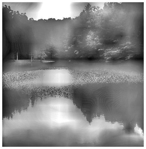 bwlandscape misty blackandwhite hipstamatic iphoneart iphoneography iphone pond nc