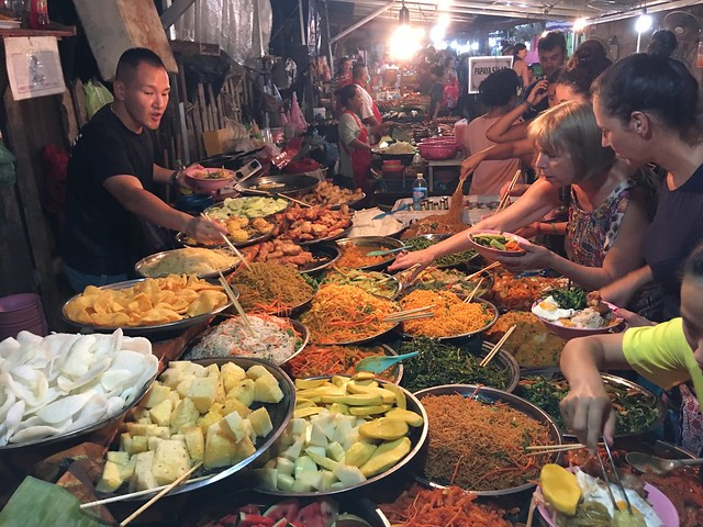Night Market - Luang Prabang