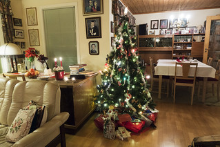 Christmas tree at Arne and Aslaug's place | by roboppy