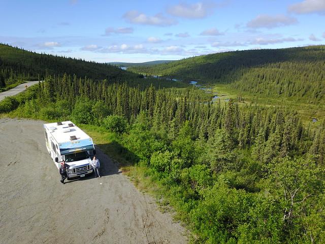 Autocaravana en Alaska