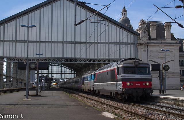 Les BB 67424 et 626 à La Rochelle