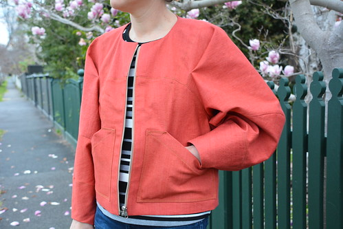 Pattern Fantastique's Falda Jacket | by Blogless Anna