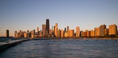 Chicago: Golden Morning