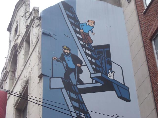Bruxelles - la bande dessinée