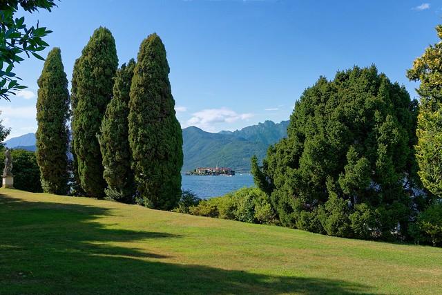 Lake Maggiore / Italy /  Isola Superiore o dei Pescatori