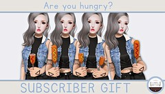 ♡ Subscriber Gift - Are you hungry? ♡