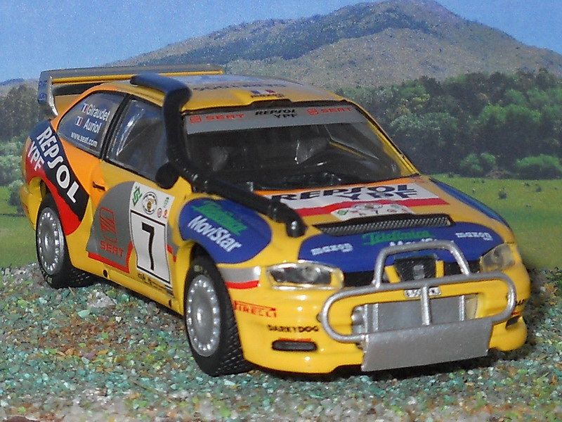 Seat Córdoba WRC – Safari Kenya 2000