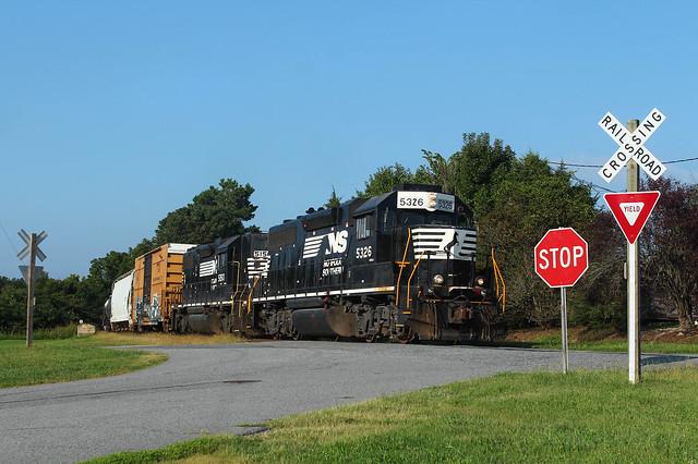 Morning Freight in Denton