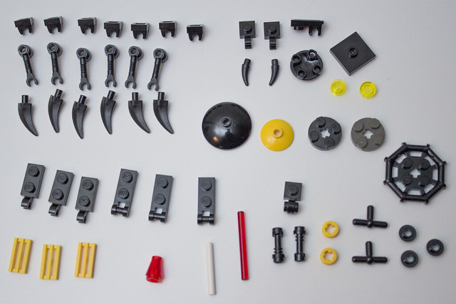Rectifier parts list