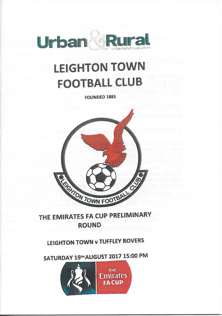 Leighton Town v Tuffley Rovers FA Cup