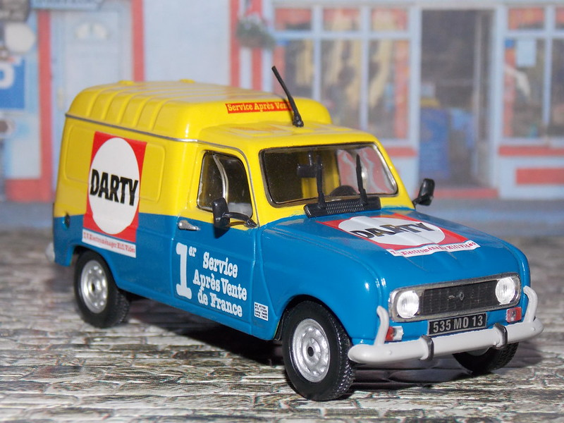 Renault 4 F6 - Darty - 1986